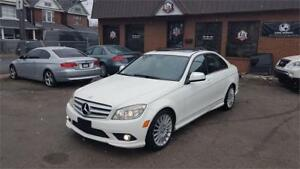 2008 Mercedes-Benz C-Class 2.5L with clean car proof