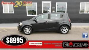 2013 CHEVROLET SONIC LT HATCHBACK - BLUETOOTH, REMOTE START, 92K