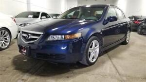 2005 Acura TL|1 Owner|Accident Free|Serviced at Acura|Low Km!
