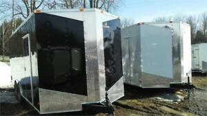 NEW 8,5X24 V-NOSE ENCLOSED TRAILERS 2017