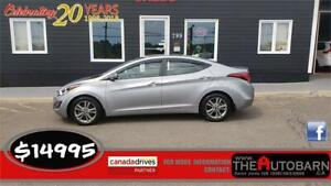 2016 HYUNDAI ELANTRA GL SEDAN - auto, loaded, alloy wheels.