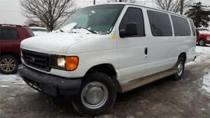 2006 Ford E-350 Exteneded Cargo Van, Seats can be removed!