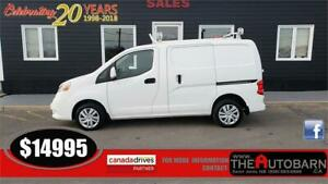 2015 NISSAN NV200 CARGO/WORK VAN - 4cyl, FWD, ladder rack