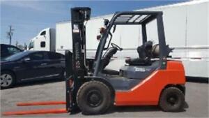 Brand new Forklift Toyota 5000 Lb Lift truck pneumatic sideshift