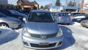 2009 NISSAN VERSA AUTOMATIC HATCHBACK WITH SAFETY & WARRANTY