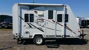 Book Your Hybrid Rental Travel Trailer Now!