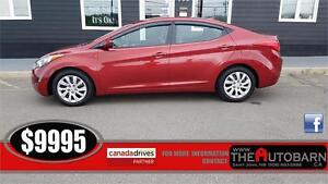 2013 HYUNDAI ELANTRA GL SEDAN - cruise, bluetooth, heated seats