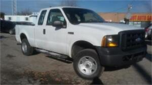 2006 Ford F250 4x4 Super Duty XL, Power window, Only 137000km!