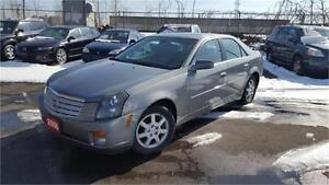 2006 CADILLAC CTS  LEATHER SUNROOF FULLY LOADED CERTIFIED