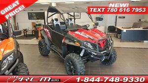 2017 CFMOTO ZFORCE 800EX / EPS ONLY $119 BW CALL TODAY!!