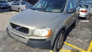 2004 VOLVO XC90 T6  FULLY LOADED 7 PASSENGER LEATHER CERTIFIED