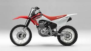 2016 Honda CRF150F - brand new - only $95.95 monthly