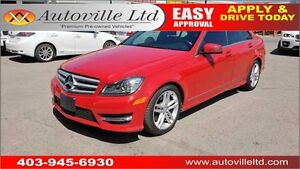 2013 Mercedes-Benz c300 4MATIC NAVI LEATHER ROOF
