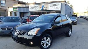 2009 Nissan Rogue SL AWD LEATHER, P-MOON, BLUETOOTH