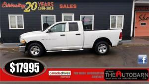 2012 DODGE RAM 1500 - 5.7l V8 HEMI - FULLY LOADED, BLUETOOTH