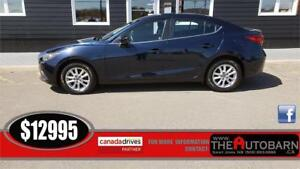 2014 MAZDA 3 GS-Sky - Auto, cruise, bluetooth, heated seats