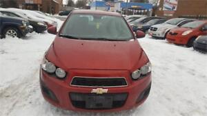 2012 CHEVROLET SONIC AUTOMATIC A/C SAFETY WITH WARRANTY