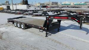 2017  24' Triple Axle Gooseneck Trailer (21000 GVW) Double A