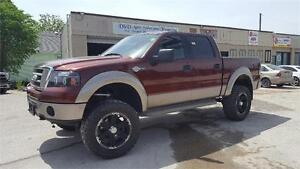2006 Ford F-150 King Ranch-4WD-LIFTED-LEATHER-HTD SEATS-LOADED