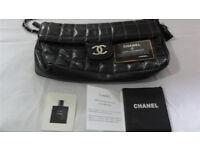 Chanel Handbag Hand Bag Black Leather (also one Prada, Guess, Jimmy Choo, Michael Kors, MK, D&G)
