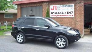 2009 Hyundai Santa Fe Limited AWD - Leather, Sunroof, Low Kms!