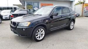2013 BMW X3 Xdrive 28i - Loaded, Panoramic Roof, Bluetooth