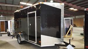 NEW 7X12 ENCLOSED TRAILERS 2017