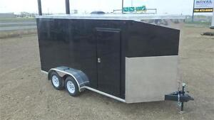 2016 7FT x 14FT Precision Cargo Enclosed Trailer (7000LB GVW)