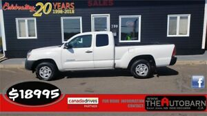 2014 TOYOTA TACOMA 2WD EXTENDED CAB - CRUISE, BLUETOOTH, 106k