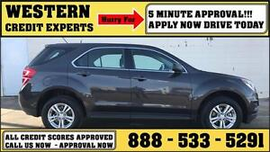 2016 Chevrolet Equinox AWD 160,000km Factory Warranty $198 B/W