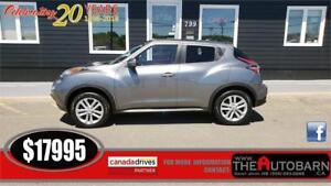 2015 NISSAN JUKE SL AWD - Automatic, backup/birds eye cam