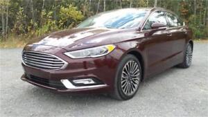 2017 Ford Fusion Titanium (Leather, Nav, Moonroof!)
