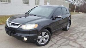 2008 ACURA RDX AWD LEATHER TECH PACKAGE  NAVIGATIONI REAR CAMERA