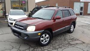 2005 HYUNDAI SANTA FE VERY CLEAN SAFETY ETESTED