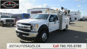 2017 Ford F-550 Crew Cab Service Truck with Brutus Body