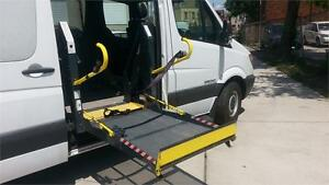 2007 Dodge Sprinter 2500 / Diesel / Wheelchair Power Lift Van