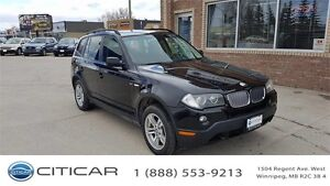 2007 BMW X3 3.0i. AWD. BLOW OUT SALE! HYW MILEAGE!BLOWOUT SALE