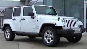 2014 Jeep Wrangler Unlimited Sahara 4x4 Automatic Removable Tops