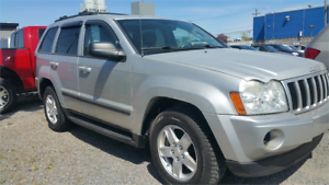 2007 Jeep Grand Cherokee 4X4 GARANTIE 1 ANS CAMION COMME NEUF
