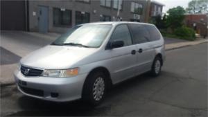 Honda Odyssey LX 2002   transmission deja change (3100.$)