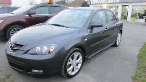 2008  Mazda3 Gt AUTOM CUIR TOIT OUVRANT FINANCEMENT