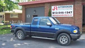 2008 Ford Ranger FX4/Off-Rd Supercab 4X4 - Extra Clean Truck!