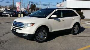 2008 FORD EDGE LIMITED AWD DVD REMOTE STARTER FULLY LOADED