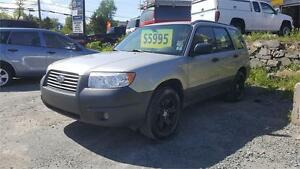 2006 CLEAN FORESTER !!! , RUST FREE!! NEW TIRES ALL AROUND !