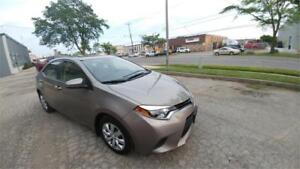 2014 Toyota Corolla LE VERY LOW 25000 KM ACCIDENT FREE FINANCING