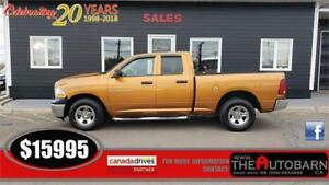 2012 DODGE RAM 1500 SXT - 4.7L V8, FULLY LOADED, CHROME STEPS