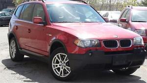 2005 BMW X3 2.5i WITH SAFETY CERTIFICATE