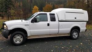2005 Ford SF350 S/C LONGBOX 4X4 CARGO BODY SERVICE BODY $11,900