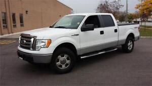 2011 FORD F-150 SuperCrew XLT 4X4 REMOTE STARTER 145""