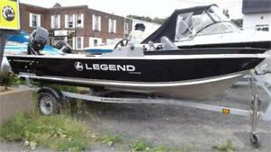 LEGEND 16PROSPORT SC1 LEFT(NEW) & TRAILER & USED 20ELPT 4 STROKE